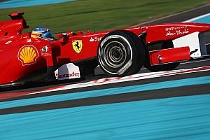 Formula 1 Ferrari Abu Dhabi GP feature - Alonno gets the missing trophy