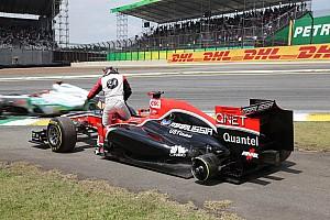 Formula 1 Marussia Virgin Brazilian GP race report