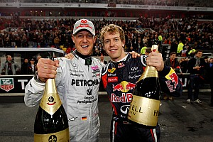 Formula 1 Schumacher records 'too far away' insists Vettel