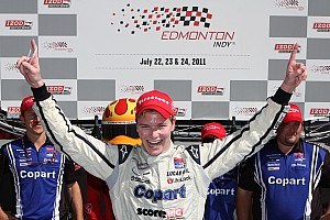 Indy Lights SSM's Newgarden receives 'Securing Tomorrow' Award
