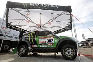 Dakar Team X-raid pre New Year's Day start