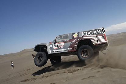 Al-Attiyah leads Hummer team 1-2 finish in stage seven in Chile