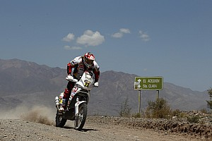 Dakar Aprilia Racing stage 14 report