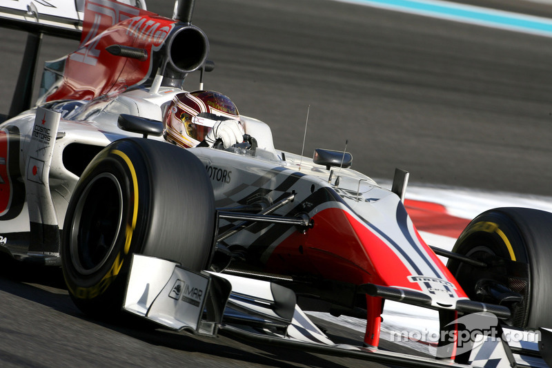 HRT to start 2012 season with new car