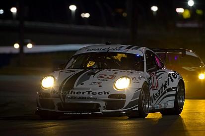 Alex Job Racing Daytona hour 18 race report