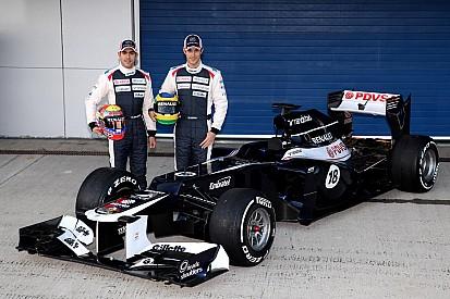 Williams launch of FW34 report
