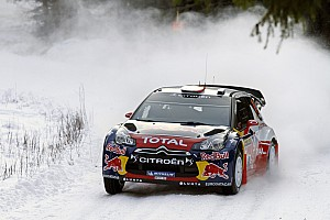 WRC Breaking news: Loeb crashes in Rally Sweden