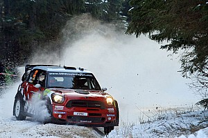WRC MINI Rally Sweden leg 1 summary