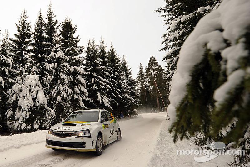 Daniel Oliveira Rally Sweden final summary