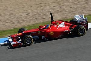 Formula 1 Ferrari Barcelona day 1 testing - Nothing new on the Spanish front