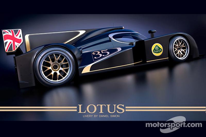 Lotus LMP2 team names drivers for world challenge