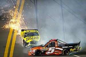 NASCAR Truck Perseverance pays off for Paulie Harraka in Daytona