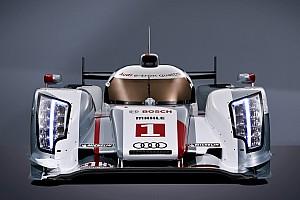 WEC Audi unveils the Audi R18 e-tron