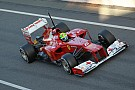 Ferrari Barcelona test II -  Day 1 report