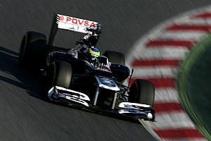 Formula 1 Williams Barcelona test II -  Day 3 report
