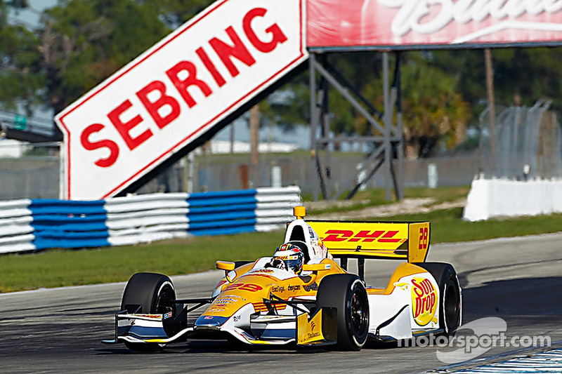 Series Sebring Open Test day 1 report