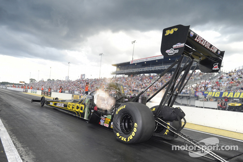 Morgan Lucas fastest Top Fuel qualifier at Gainesville