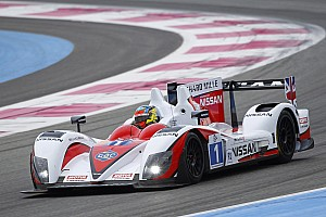 European Le Mans Martin Brundle Paul Ricard test summary