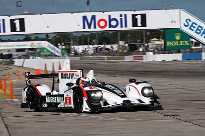Graf puts Muscle Milk on ALMS P1 pole in Sebring