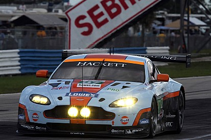 Aston Martin Sebring hour 8 report