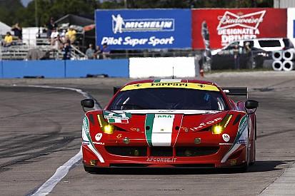 Ferrari teams Sebring race report