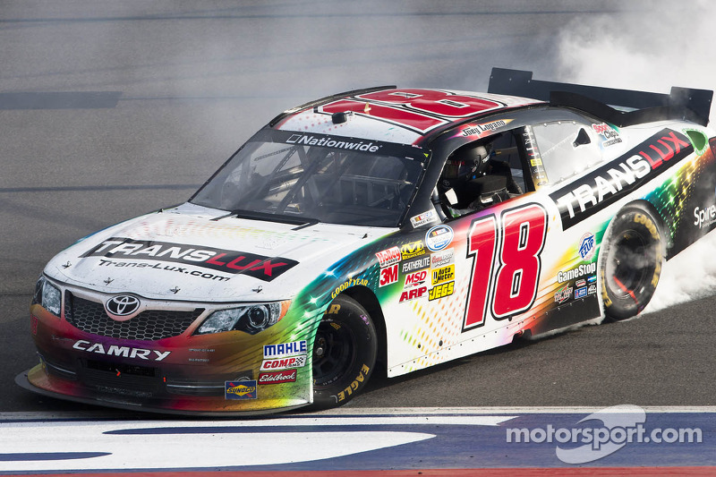 Logano wins to continue JGR dominance in Fontana
