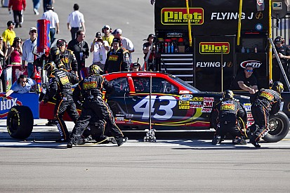 Annett claims another solid finish at Fontana