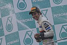 Sauber - Perez interview after Malaysian GP podium