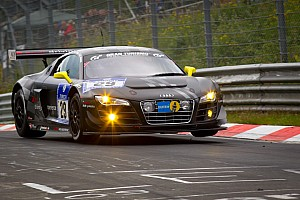 Endurance Two Audi R8 LMS ultra cars form spearhead at the Nürburgring 24 Hours