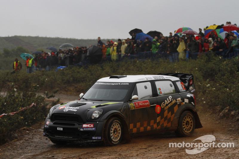 Team MINI Portugal Rally de Portugal leg 2 summary