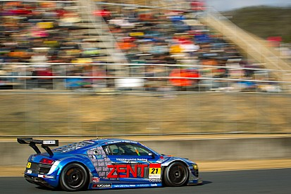 A successful first race weekend in Super GT for Cyndie Allemann
