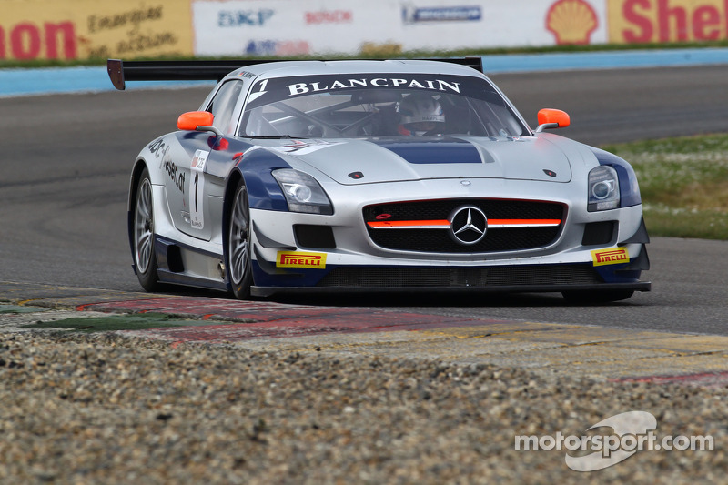 GT3 Europe: Wins for Sainteloc Audi and Heico Mercedes