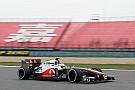 McLaren Chinese GP - Shanghai Friday report