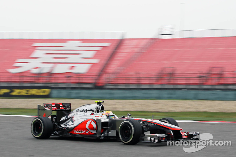 McLaren Chinese GP - Shanghai Friday report