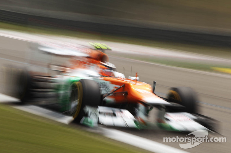 Force India Chinese GP - Shanghai qualifying report