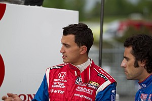IndyCar Series places Rahal on probation for Long Beach incident