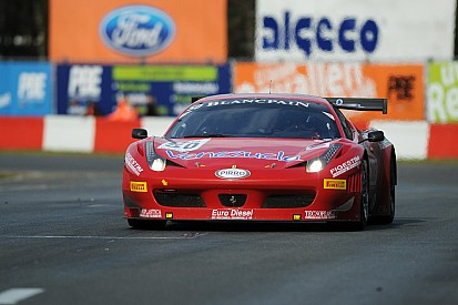 GT3 EUROPE: Tyre gamble pays off for Ciro and Ardagna-Perez