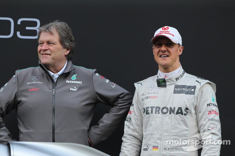 Haug disagrees with Schumacher's Pirelli blast