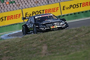 DTM Paffett takes surprise DTM win for Mercedes at Hockenheimring