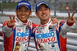 Super GT Wakisaka and Ishiura take dramatic win in Fuji