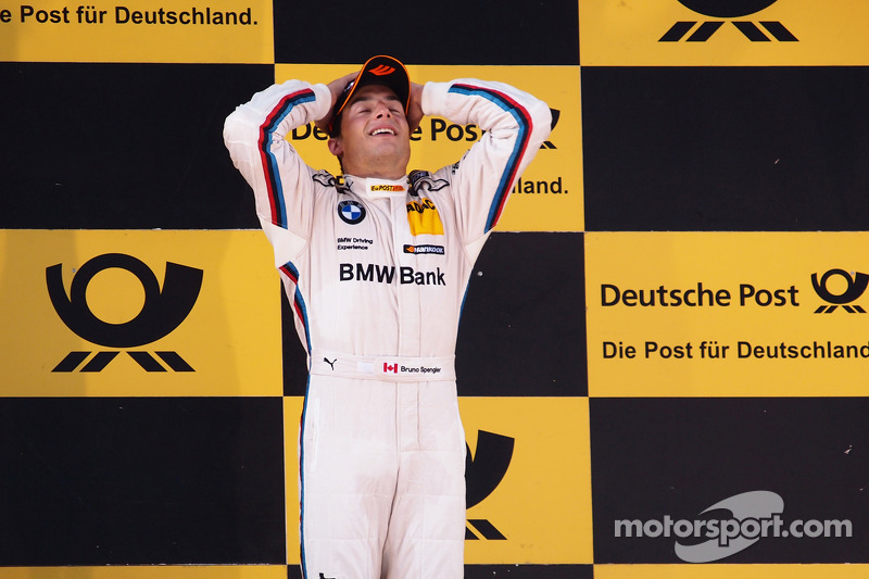 Canadian hot-shoe Spengler lands first win for BMW at Lausitzring