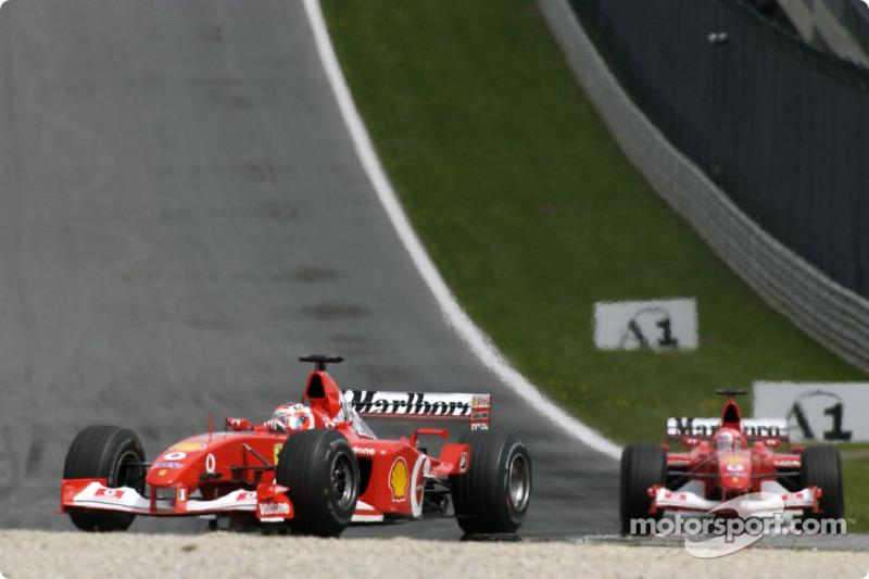 Barrichello reveals Ferrari 'threat' of 2002