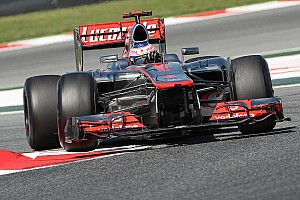 Formula 1 Button starts Spanish GP with fastest time on Friday
