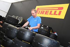 Formula 1 Pirelli - Barcelona tyre test day with Alguersuari