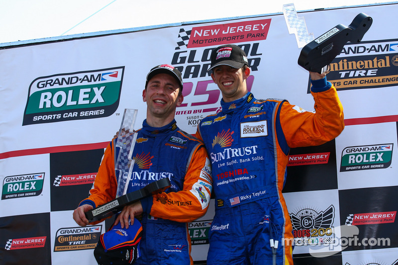 Angelelli and Taylor place SunTrust Corvette in NJMP victory lane