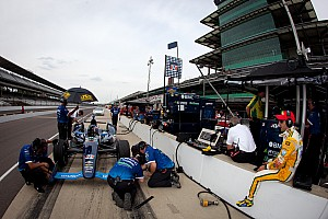 IndyCar KV Racing Indy 500 practice day 1 report