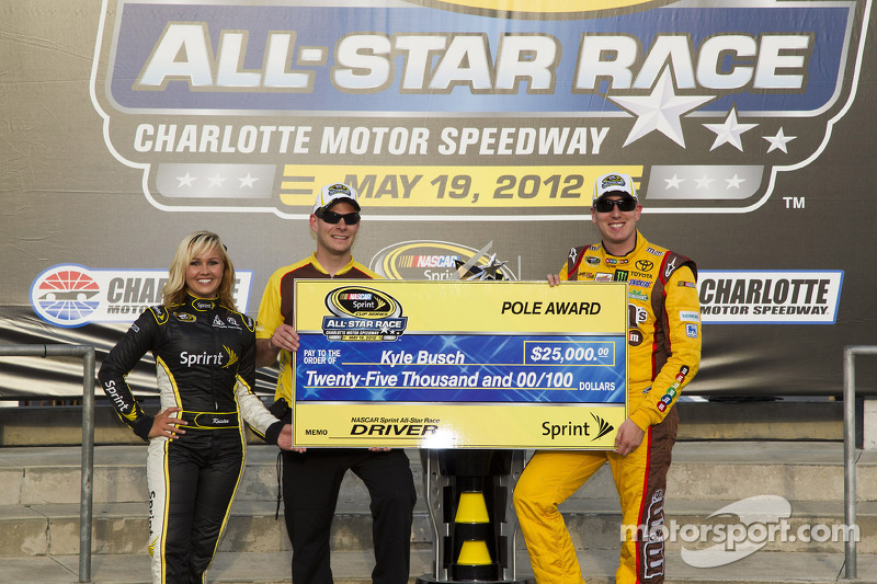 Busch and Toyota drivers on Charlotte All-Star race
