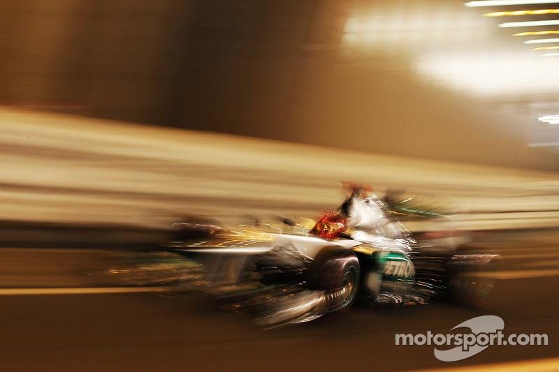 Mercedes and Schumacher quickest around Monaco circuit