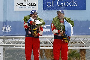 WRC Loeb earns hat trick of Acropolis Rally wins