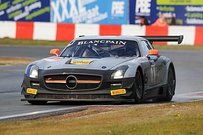 GT3 Europe: Heico Mercedes crews score a win apiece at Navarra
